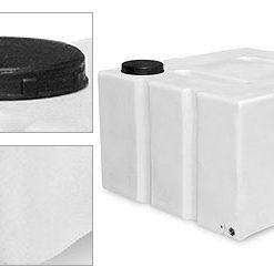 800 Litre Flat Plastic Water Tank