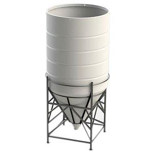 8000 Ltr Open Top Cone Tank
